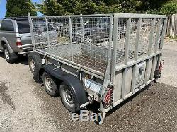 Ifor Williams GD85MK3 Twin Axle General Purpose TRAILER With Mesh 2700kg