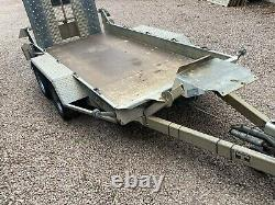Ifor Williams GH94 Braked Twin Axle Plant Trailer