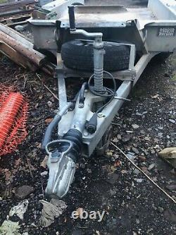Ifor Williams GH94BT Braked Twin Axle Mini Digger Plant Trailer, 9' x 4' 6