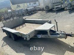 Ifor Williams GX106 Twin Axle Plant Trailer 3500kg