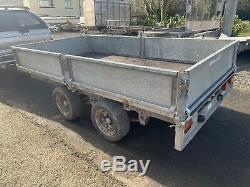 Ifor Williams LM106G Twin Axle Drop Side TRAILER 2700kg