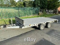 Ifor Williams LM126G Twin Axle General Purpose Flat Trailer 3500kg (12x6)