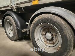 Ifor Williams LM166 Twin Axle Flat Bed Trailer With Full Ramp And New Mesh Sides