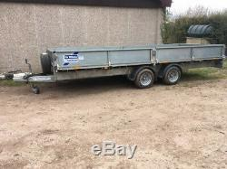Ifor Williams LM166 twin axle, great condition, only 4 months old, may px