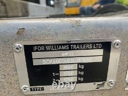 Ifor Williams LM166G/R Twin Axle Flat Trailer 3500kg