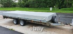 Ifor Williams LM166G Trailer Twin axle 3500kg Fully galvanised with Dropsides