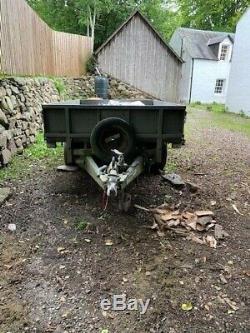 Ifor Williams LT85G Twin Axle Drop Side TRAILER 2000kg