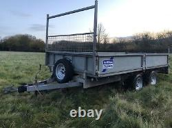 Ifor Williams Lm125 Trailer Ramps Sides Ladder Frame Twin Axle