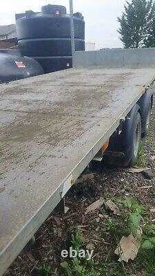 Ifor Williams Lm166 Twin axle 3.5 ton Flat bed Trailer collection Milton Keynes