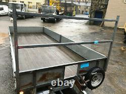 Ifor Williams Lm166g Twin axle 3.5 ton Flat bed Trailer 16 ft x 6ft winch