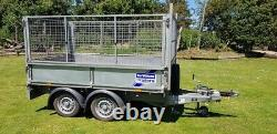 Ifor Williams Lt85g Twin Axle Braked Caged Trailer Excellent Condition