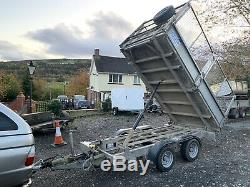 Ifor Williams TT105G Twin Axle Tipper TRAILER With Mesh Sides 3500kg