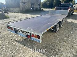 Ifor Williams Trailer Lm166 NEW Flatbed Headboard Twin Axle 16ft 3500kg