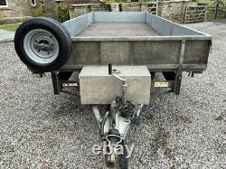 Ifor Williams Twin Axle 18ft Trailer With Drop Down Sides