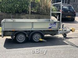 Ifor Williams Twin Axle Trailer Galvanised Dropside