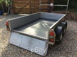 Ifor Williams Twin Axle Trailer with Ladder Rack (GD85)