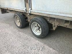 Ifor Williamson 14ft Trailer Car Transporter, Twin Axle Trailer