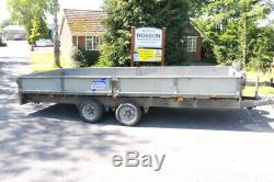 Ifor williams LM166G 16FT twin axle Trailer