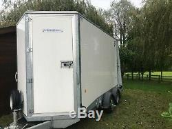 Ifor williams bv126 box trailer