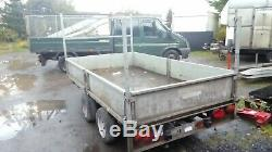 Ifor williams lm105 twin axle trailer 10ft x 5ft 2600kg