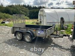 Ifor williams trailer gd84 twin axle rear ramp 8ft