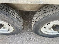 Indespension 10 X 5 Twin Axle Car General Purpose Trailer With Rear Ramp Ifor