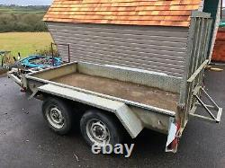 Indespension 2.7 Ton Twin axle plant trailer