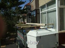 Indespension 640 twin axle car trailer