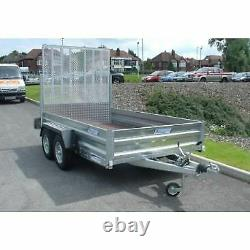 Indespension 8' x 4' Goods GT TrailerTwin Axle2700KG GWFrom £2280+VAT