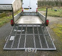 Indespension Challenger G20106V 10ft x 6ft Plant trailer No Vat, Rochdale