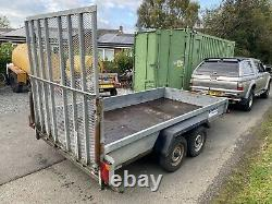 Indespension Challenger Twin axle Plant Trailer 2600kg Like Ifor