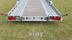 Indespension Ct27167 16ft Twin Axle Car Transporter Trailer