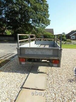 Indespension Flatbed Twin Axle Trailer 10ft x 5ft