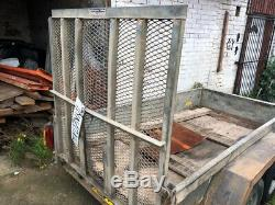 Indespension Plant Trailer Twin Axle For Sale In Good Used Condition
