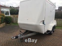Indespension Tow A Van 480D Box Trailer Twin Axle 10 X 6ft 2000 Kg Gross Weight