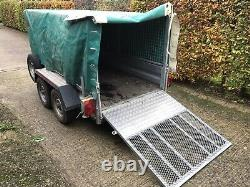 Indespension Trailer, 2.6 Tonne, Twin axle, Braked