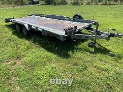 Indespension Twin Axle Car Transporter Trailer 2700kg 16ft