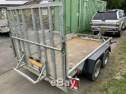 Indespension Twin Axle Mini Digger / Plant TRAILER 3500kg (10x6) Like Ifor