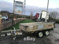 Indespension Twin Axle Tipping Trailer Ifor Year 2014
