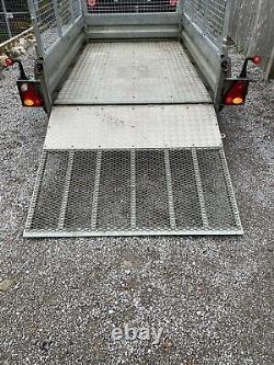 Indespension Twin Axle Trailer With Ramp 2,600KG 8ft X 5ft