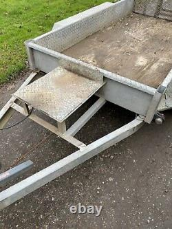 Indespension plant trailer 8x4 2.7t Mini Digger Twin axle not Ifor Williams