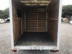 Large Heavy Duty twin axle Braked box trailer With 4 Roller Shutter Doors L@@K