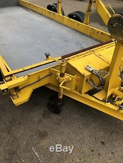 Lolode Twin Axle Trailer Hydraulic Lift Plant Trailer Not Ifor Williams