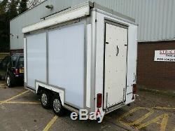 Lynton Exhibition Trailer Twin Axle 240v No VAT