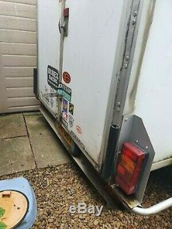 Lynton Load Runner twin axle box trailer 8'2x 5'2 1600kg