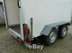Lynton load Lugger 250 Twin axle Box Trailer 8ft x 5ft like ifor williams NO VAT