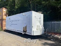 Mobile catering trailer/ Burger van Twin Axle Spares Or Repair Hot Potato Fryer