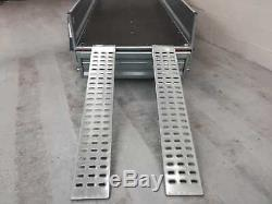 Motorbike Car Trailer Twin Axle 8,7ft x 4,1ft 750 kg with RAMPS