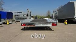 NEW CAR TRAILER 5m X 2,1m 3000KG TWIN AXLE AL-KO CAR TRANSPORTER 16.4ft x 6.6ft