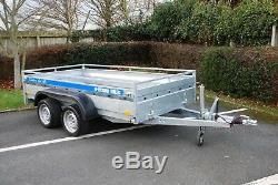 New Car Trailer 2700kg 8x4 Twin Axle Braked Heavy Duty Car Trailer AL-KO